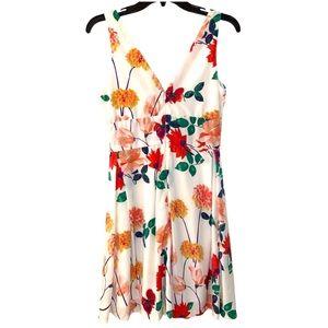 BB DAKOTA White Floral Tea Party Dress Size 0